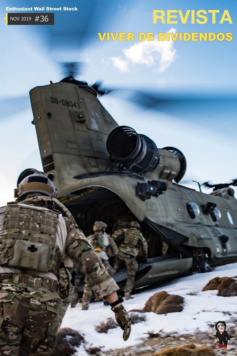 Melhores ações do setor Militar na bolsa USA - XD #36