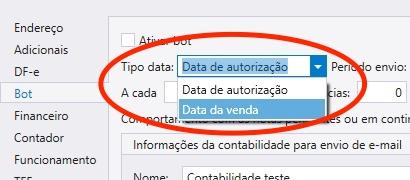 configuracao bot contabilidade